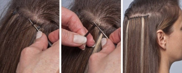 Prodloužení vlasů metodou Bellargo