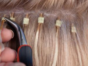 prodlužování vlasů Micro Ring