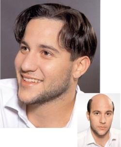 obrázek muze s vlasovou integraci